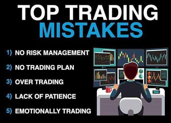 Top trading mistakes to avoid at all costs