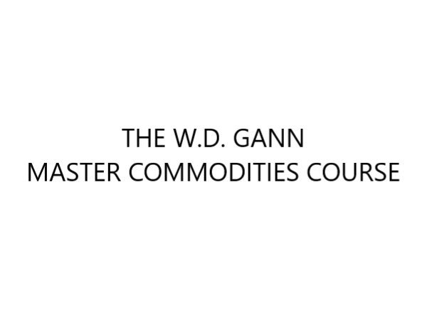 W.D. Gann Master Commodities Course