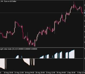 True Strength Index Trade (William Blau)