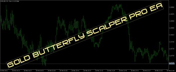 Gold Butterfly Scalper Pro EA for MT4