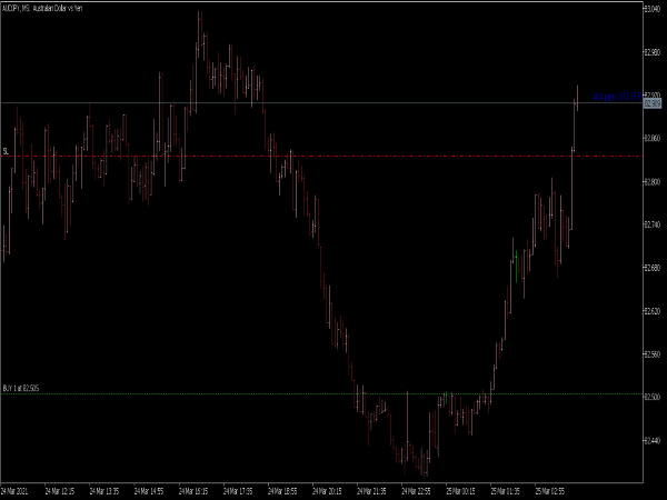 Show Pips Indicator for MT5