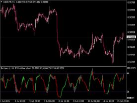 RSX RSI Bar Chart Indicator