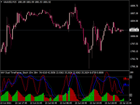Stochastic Dual Time Frame Arrows