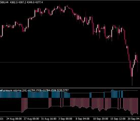 Buy Sell Volume MTF Alert Indicator